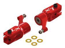 Lynx Blade 130 S / 180 CFX Red Ultra Main Grip Set W/ Bearings LX1439