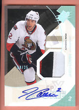 10/11 UD SPX Spectrum Rookie #178 Jared Cowen 3 Color Patch Autograph #08/25