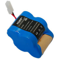 HQRP Rechargeable Battery 4.8v 2.0Ah for Euro-Pro Shark Sweeper Cleaners X1725QN