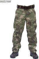 MILITARY CARGO TACTICAL COMBAT HEAVY-DUTY PANTS BDU ACU CAMO S-XXXL (ripstop)