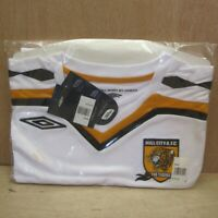 Hull City 2007 09 Away Football Shirt Jersey White Long Sleeve Men's L NEW BNWT
