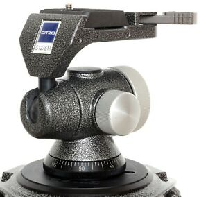 Gitzo Italy G1276M off-centre ball head with QR plate