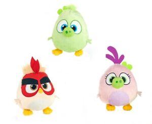 Angry Birds Hatchlings Stuffed - Figurine Bird Stuffed Toy 21 CM