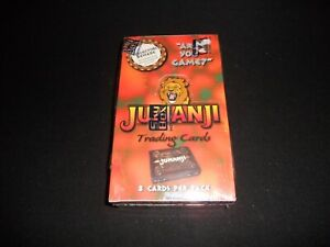 """1995 SkyBox JUMANJI Trading Card Factory Sealed Box """"Are You Game"""" 36 Packs"""