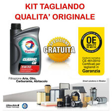 Kit tagliando olio TOTAL C2 5W30 4LT+4 FILTRI PEUGEOT 308 2.0 HDI 90CV 110CV