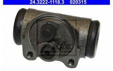ATE Cilindro de freno rueda RENAULT CITROEN C15 TALBOT RANCHO 24.3222-1118.3