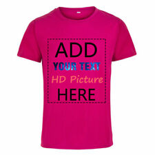 Personalized Custom Printed Tee Men Women Cotton Tops T-shirt Your Own Design