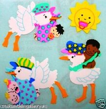 Sandylion Stork & Baby Scrapbooking Stickers *FAST SHIP* G105