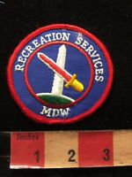 MDW RECREATION SERVICES Patch 86N4