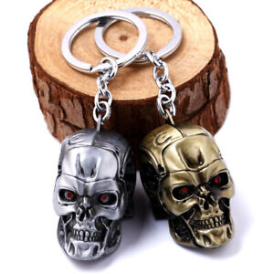 The Terminator Skull keychain, souvenir from Arnold Schwarzenegger movie