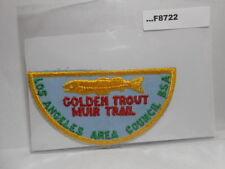 GOLDEN TROUT MUIR TRAIL (LOS ANGELES COUNCIL) F8722