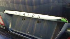 Mitsubishi Magna KH Verada Chrome Rear Garnish / Trim with Black Lettering