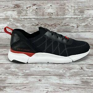Men's Cole Haan Grandsport Trainer Shoes Black Knit/Nimbus Cloud #C31442 Sz 8.5