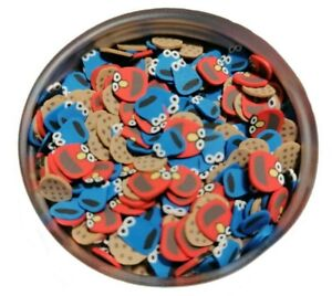 Fimo Clay Slices Resin Fillers Fake Sprinkles Monster Slime Charms Confetti