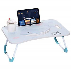 Laptop Desk, Portable Laptop Bed Tray Table Notebook Stand Reading Holder with
