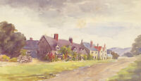 Early 20th Century Watercolour - Landscape Cottage Study