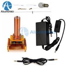 Music Tesla Coil Plasma Speaker Wireless Transmission Sound Solid Power Model Us