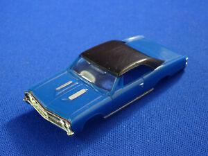 New 1967 Blue Chevelle MoDEL MoToRING T-jet HO Scale Slot Car Body Aurora RRR