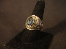 Sterling Silver USAF United States Air Force Ring Military Jewelry Size 10 3/4