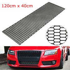Universal ABS Plastic Racing Honeycomb Mesh Grill Spoiler Bumper Vent 120 x 40cm
