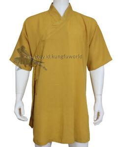 Taoist Kung fu Tai Chi Jacket Martial arts Wushu Wing Chun Suit Shaolin Robes