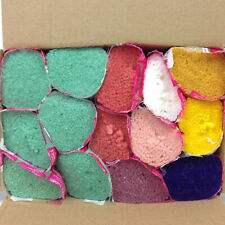 Mary Maxim Latch Hook Design and Rug Yarn 14 Bundles Green Pink 100% Acrylic