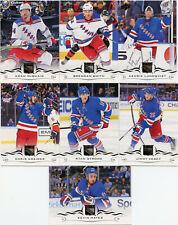 16//17 juego de equipo de Nueva York Rangers OPC con inserciones de RCS y-Nash hrivik RC