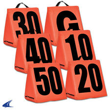 Champro Sports® Solid Weighted High Visibility Football Sideline Yard Markers