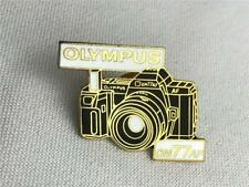 * NEW Olympus OM-77AF Camera Enamel Hat Bag Lapel Pin Photography Collectible