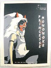 Poster Princess Mononoke Movie Print Yôji Matsuda Yuriko Ishida Art Giant Anime
