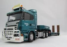 1:50 Scania R Series Prime Mover with 3 Axle Drop Deck Trailer - Waterson
