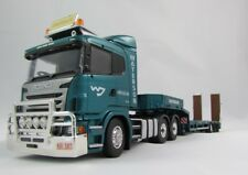 1:50 Australian Scania Prime Mover with 3 Axle Drop Deck Trailer - Waterson