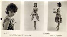 BRIGITTE VAN KRANENBURG - PERS FOTO (60'JAREN)