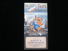 1941 College Football Fan's Dope Book EX+