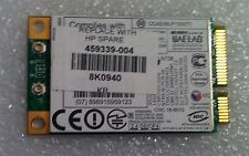 Hp Compaq Presario CQ60 311SA Wifi Wi-Fi WLAN Wireless Card 459339-004