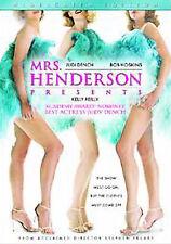 MRS HENDERSON PRESENTS, WIDESCREEN JUDI DENCH LIKE NEW IN ORIGINAL CASE DVD