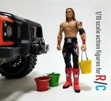 """For RC Off-road Rock crawler Car Truck 1/10 Scale 7"""" Adjustabe Action Figure"""