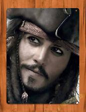 """TIN SIGN """"Captain Jack Close"""" Depp Pirates of the Caribbean Disney Decor"""