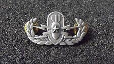 (A22-089) US  EOD Senior Explosive Ordnance Disposal  Badge matt