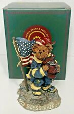 Boyds Bears Our American Hero Strength, Dedication and Courage #227791 w/Box