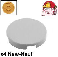 2x Tile Modified plaque plate lisse 2x2 2 tenon blanc//white 33909 NEUF Lego