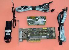 462919-001 HP Smart Array P410 1GB SP Raid+ battery +70CM SAS to 4 x sata cabl