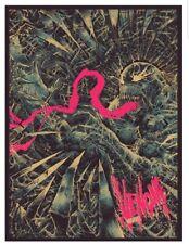 Venom Print Poster - Godmachine GID NYCC 2019 Exclusive Grey Matter Mondo Marvel