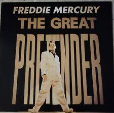 """FREDDIE MERCURY """"THE GREAT PRETENDER"""" 12 INCH UK VINYL  ...MINT..."""