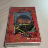 A Day at EPCOT Center Walt Disney World WDW VHS Video Tape 1991 FACTORY SEALED