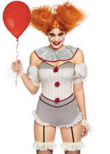 Leg Avenue Grey Killer Sewer Clown Costume