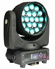 19x12W 4in1 Osram ZOOM LED Moving Head wash dj light quad led stage beam disco