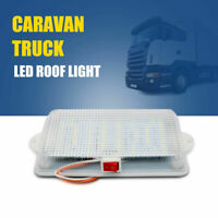 12V LED Ceiling Roof Light Trailer Camper RV Boat Interior Dome Cabin Lamp AU