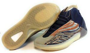 Mens Adidas Yeezy YZY QNTM GW5314 Flash Orange Kanye adiPRENE Sneakers Shoes