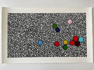 AARON De La CRUZ Original Signed Hand Colored Art Print ENOUGH ALREADY AP #/10